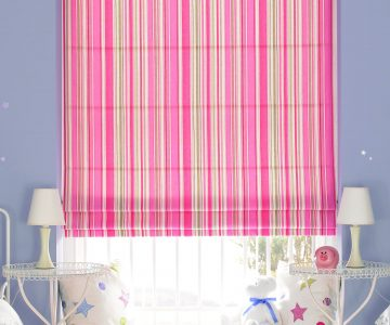 Brighton Candy Roman Blind