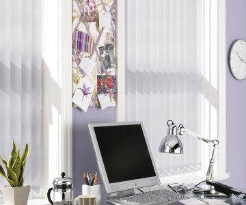 Chevron_Heather vertical blinds