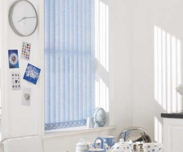 Christie Skylite vertical blinds