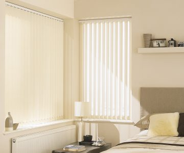 Vertical blinds carina ivory