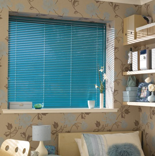 Aluminium Venetian Blinds - kingfisher