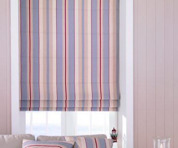 newquay blue Roman Blind